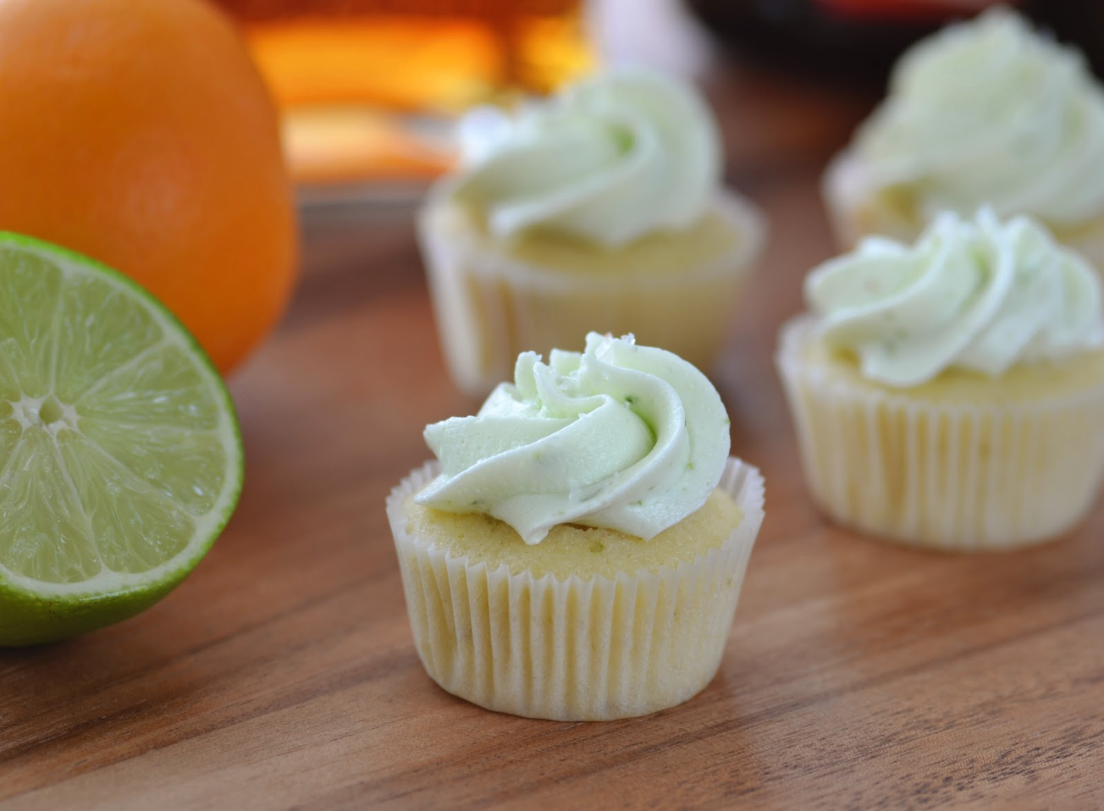 Margarita Mini Cupcakes | Building Buttercream
