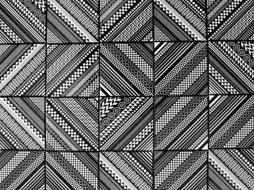 Home Decor Ceramic Tile Coaster Set Combination