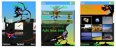 PSP PATAPON 3 SonyEricsson手機主題for Elm/Hazel/Yari/W20﹝240x320﹞