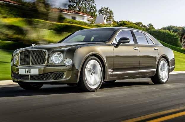 2015 Bentley Mulsanne Speed Revealed Before 2014 Paris Debut