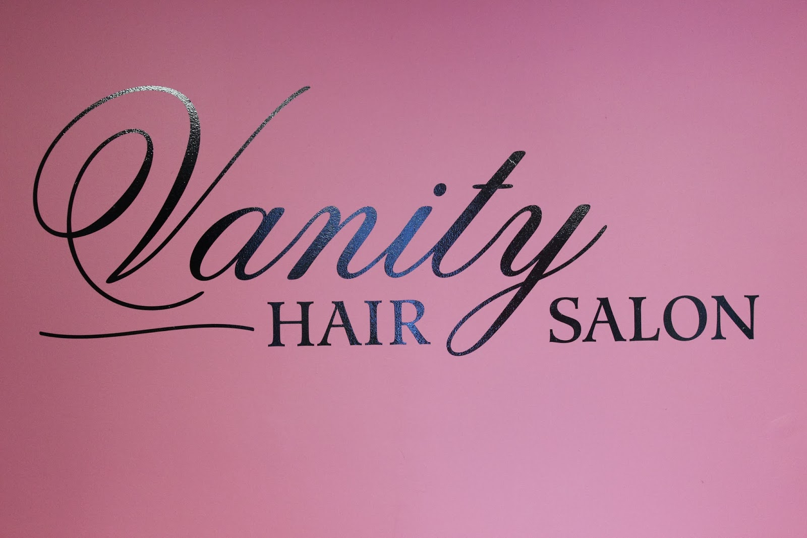 Vanity hair salon for K divine hair salon