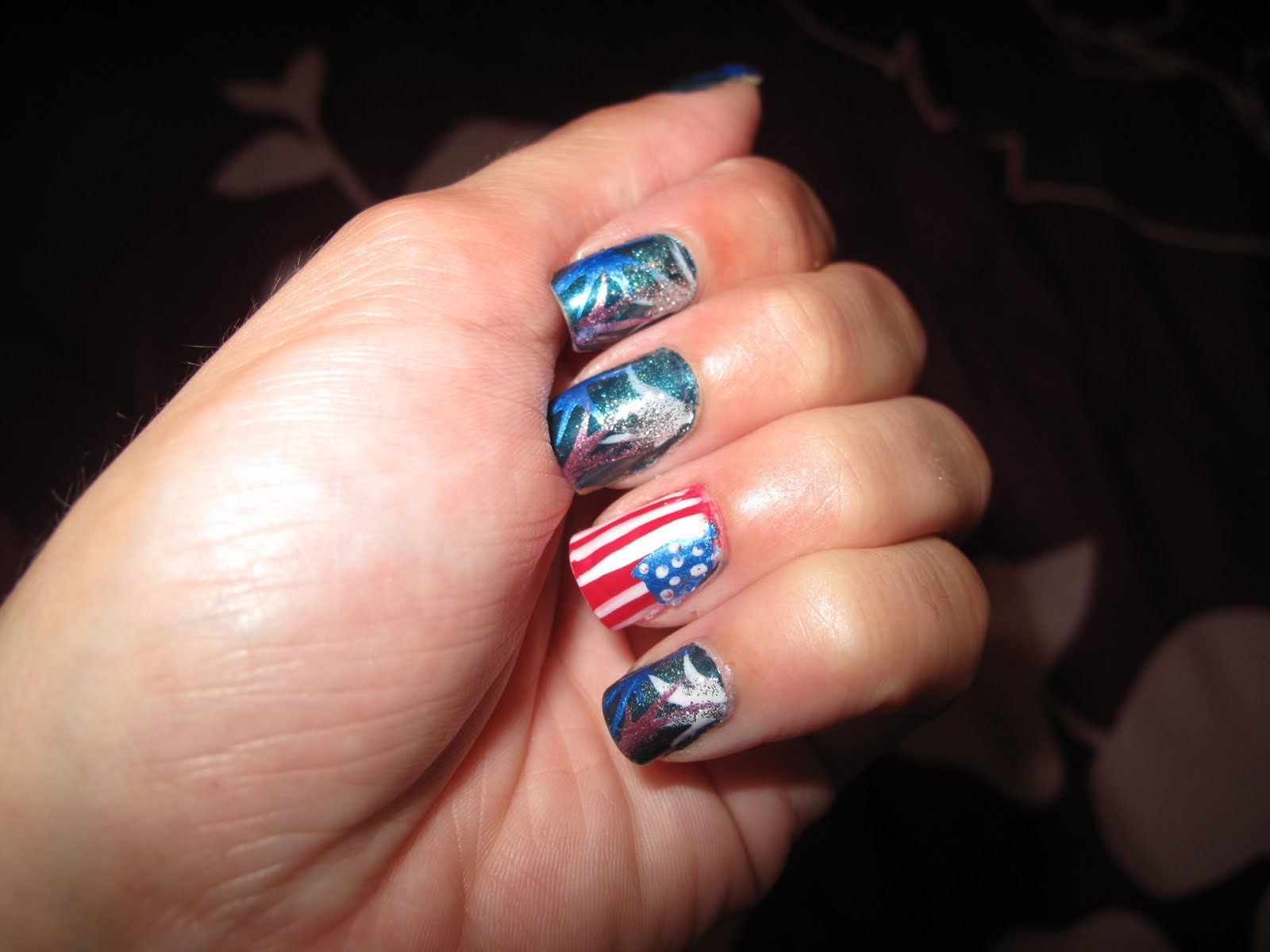 Nail Designs: 4th of July manicures!