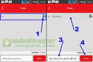 SMS Gratis Android Aktif Terus Pulsa 0 NOL