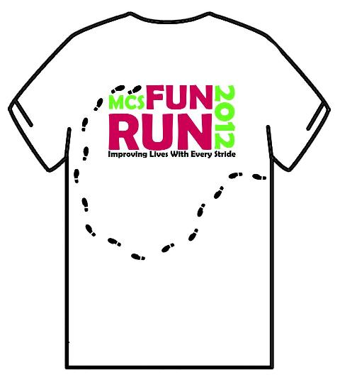 Running With Passion First Look Mcs Fun Run 2012 T Shirt