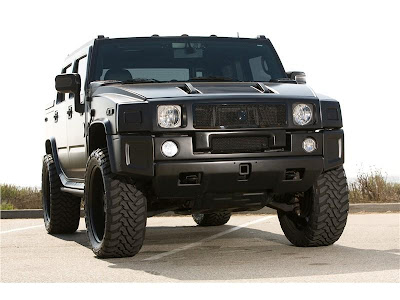 hummer h2  tuning - black concept cars