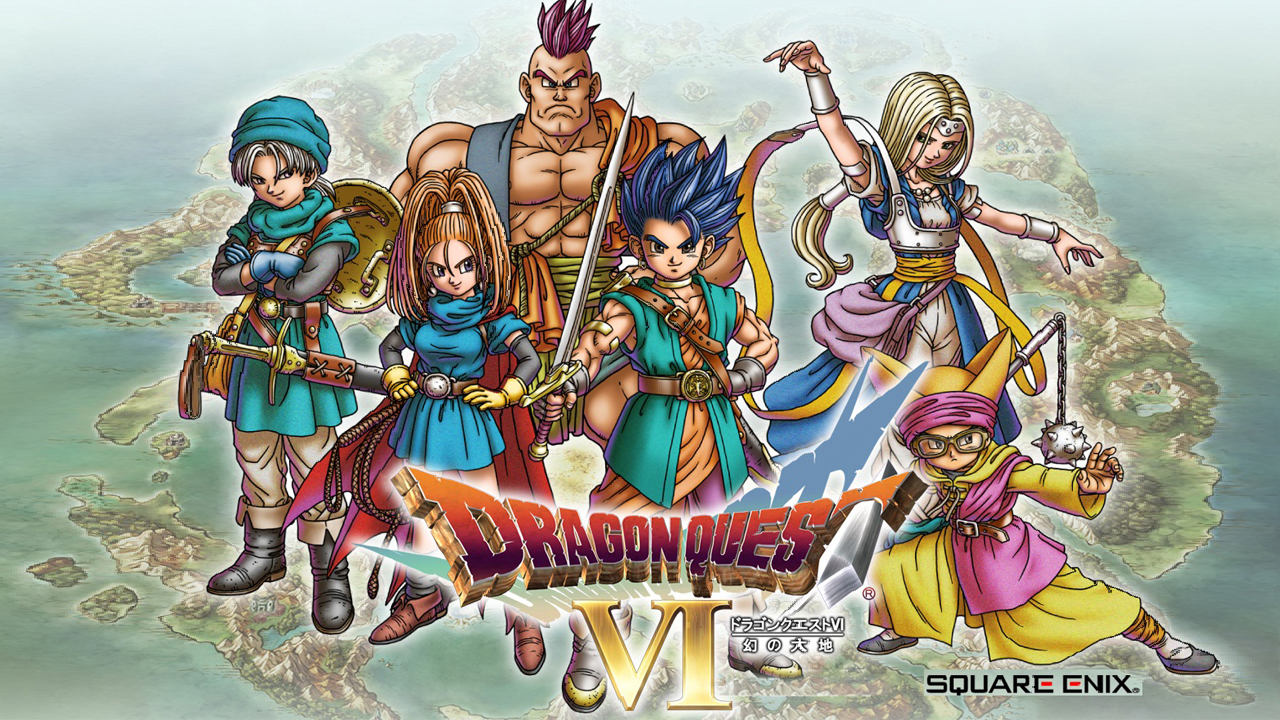 DRAGON QUEST VI English Gameplay IOS / Android
