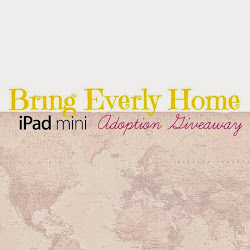 Bringing Everly Home iPad Mini Give-Away