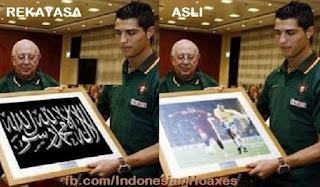 Ronaldo Masuk Islam adalah HOAX