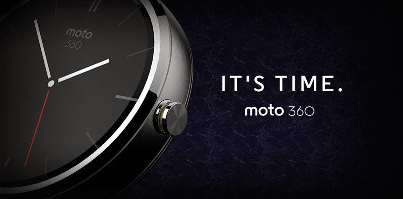 Motorola Resmi Umumkan Moto 360 dengan Android