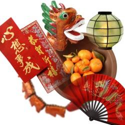 Accessoires de Nouvel An chinois