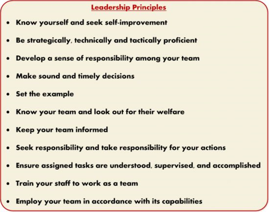 marine corps leadership traits essay