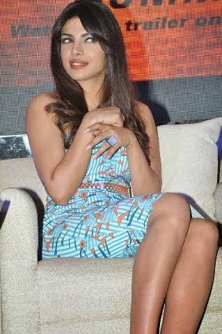 Priyanka Chopra hot pics in tight blue skirt looks very hot super sexy body figure exposed sexy bollywood actress Priyanka Chopra Hot hd pics
