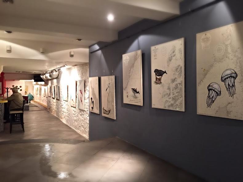 Seaescape exhibition view, U P.A.R.K. Gallery, Plovdiv