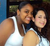 Ludmilla Oliveira e Marina Olga