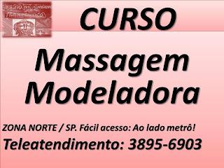 Curso de massagem modeladora