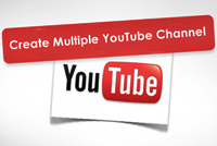 Create Multiple YouTube Channel