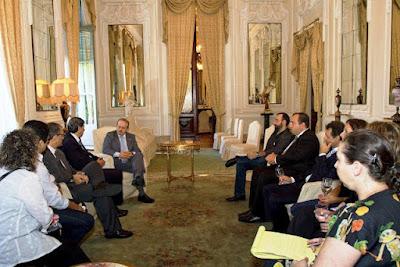 CUT, Fepal, Embaixador da Palestina e Governador Tarso Genro