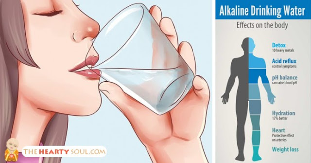 alkaline drinking water health benifits