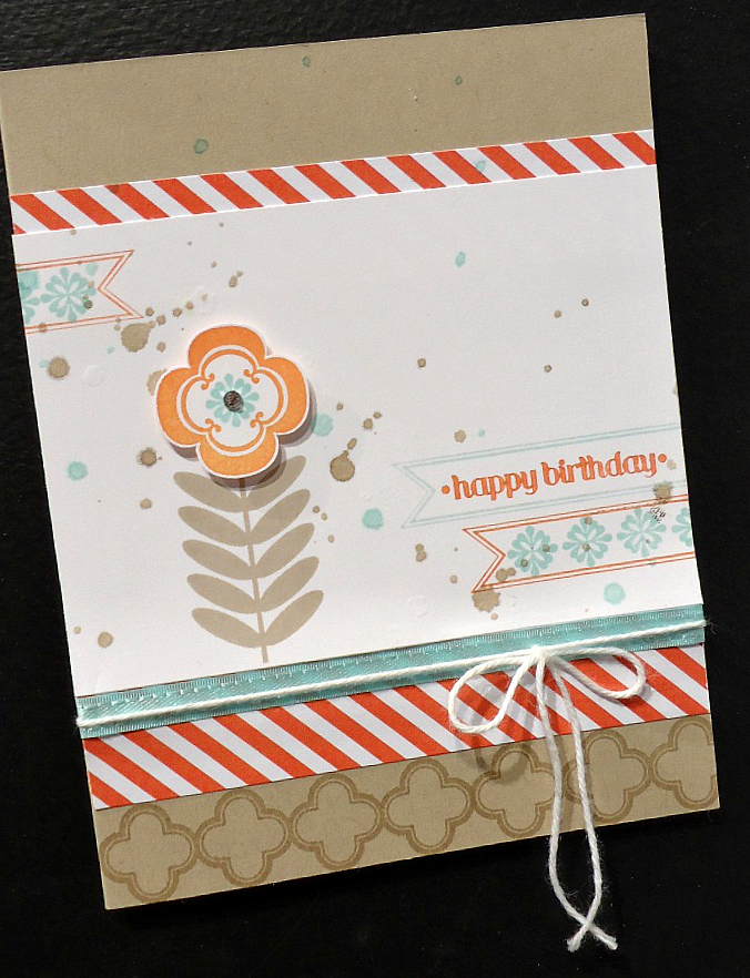 Stampin' Up! Madison Avenue Card Sample