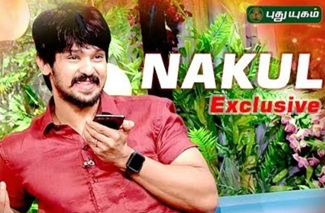 Actor Nakul Secrets! | Natchathira Jannal Diwali Special