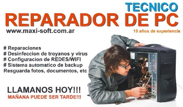 SERVICE DE PC