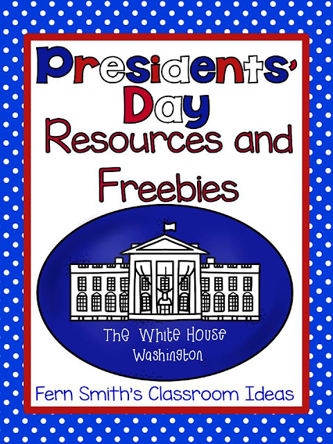 Fern Smith's Classroom Ideas Presidents' Day Resources and Freebie Lessons and Freebies at TeacherspayTeachers, TpT.