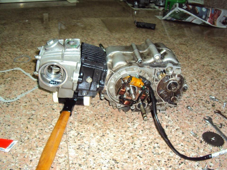 Twisted Throttle Bikes: Hero Honda Splendor Plus Engine ...