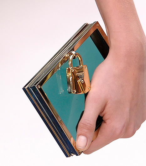 Burberry Framed Perspex Clutch Spring/Summer 2013