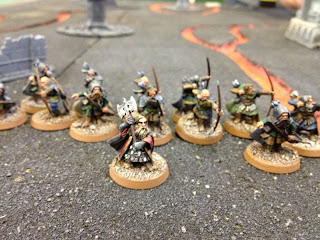 Hobbit SBG - Dwarf King and Rangers