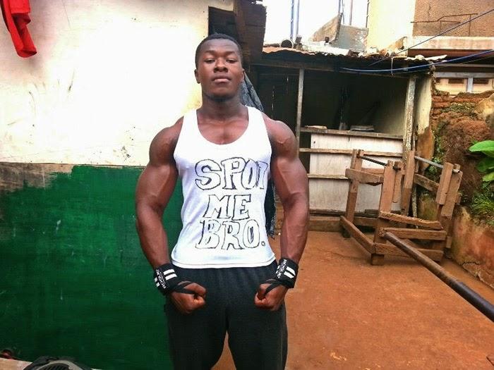 Celebrities and bodybuilding photos