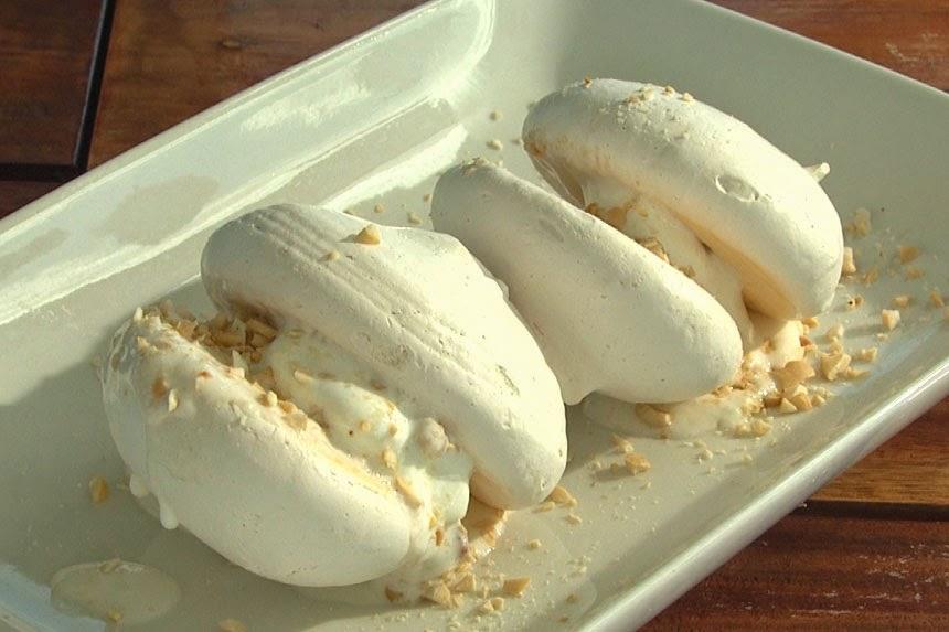 Butterscotch Sansrival Recipe