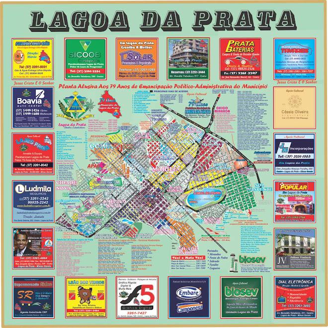 Planta Oficial de Lagoa da Prata 2017