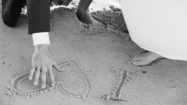Fotos de Parejas en la Playa pàra San valentin
