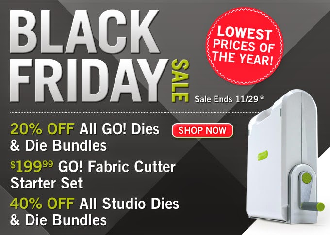 Black Friday at Accuquilt.com