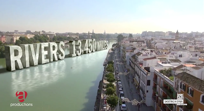 Spain has 13,450 miles of Rivers