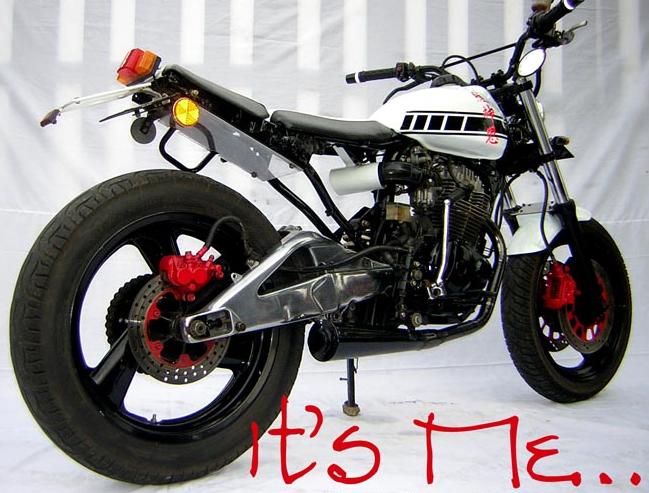 Modifikasi motor tiger jadi jap style