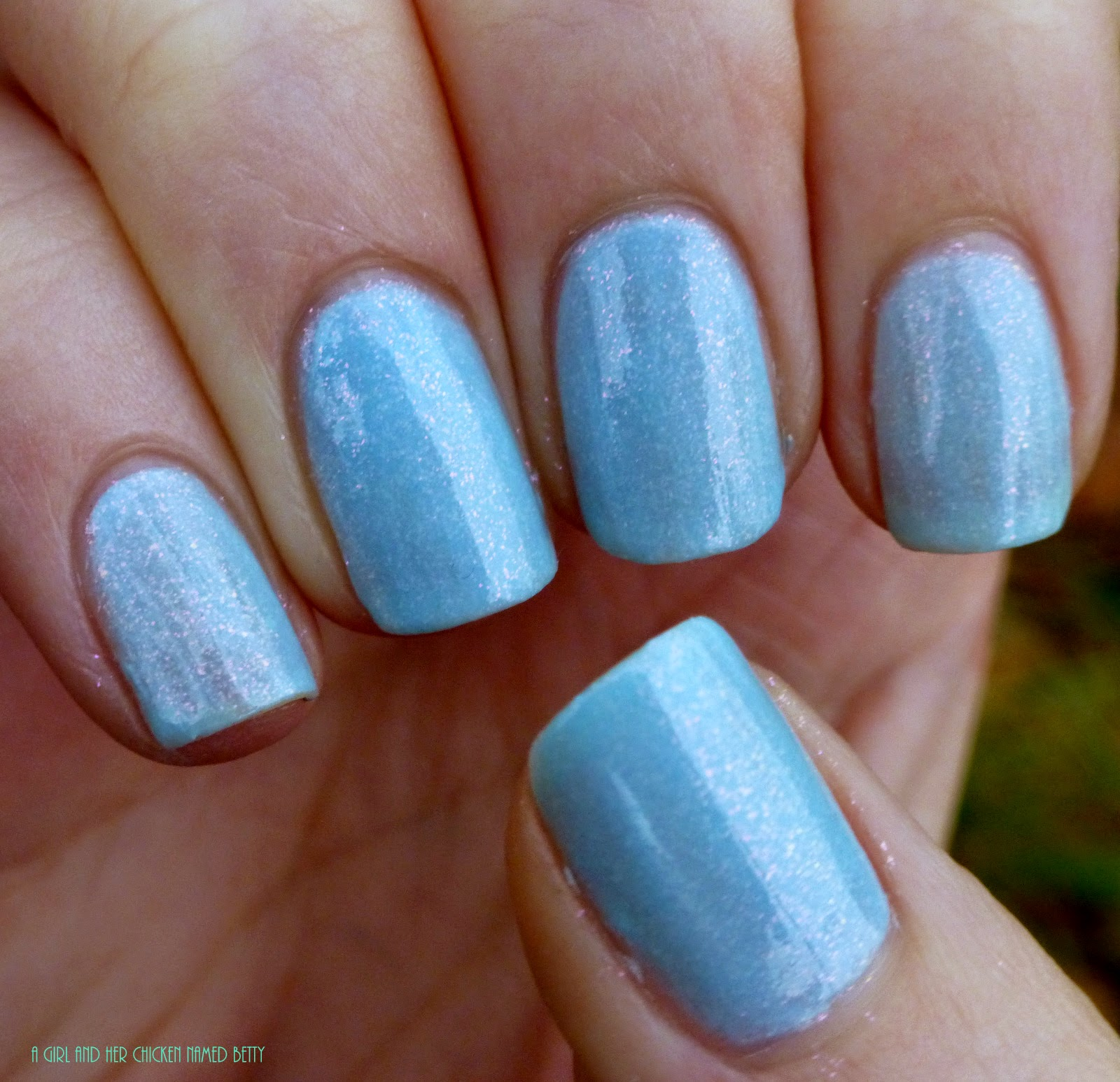 Sinful Colors Cinderella Nail Polish Swatch