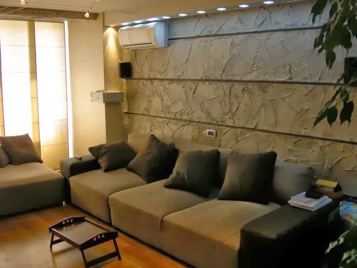 Комбинация декоративни стени