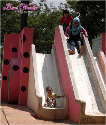Tempat Menarik dan Best Di Kuantan Pahang, Playground Unik Taman Teruntum.