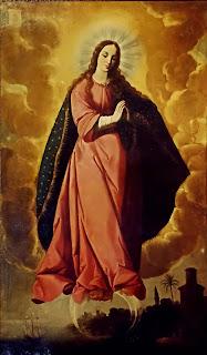 Z09 Francisco de Zurbarán - La Virgen de la Inmaculada Concepción - 1635-1637 - Iglesia de San Juan (Marchena)