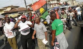 MASSOB protesters