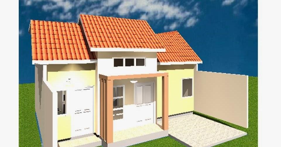 desain rumah tipe 54 tanah 84 lantai 3kamar tidur