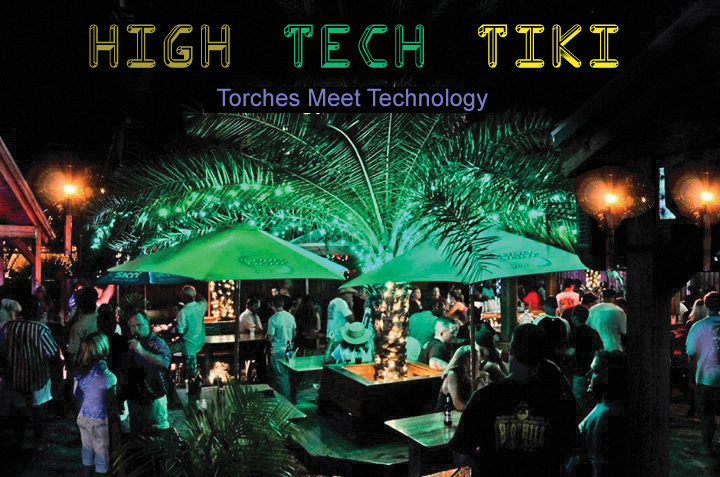 high tech tiki world 39 s first high tech tiki bar barmaxx bar