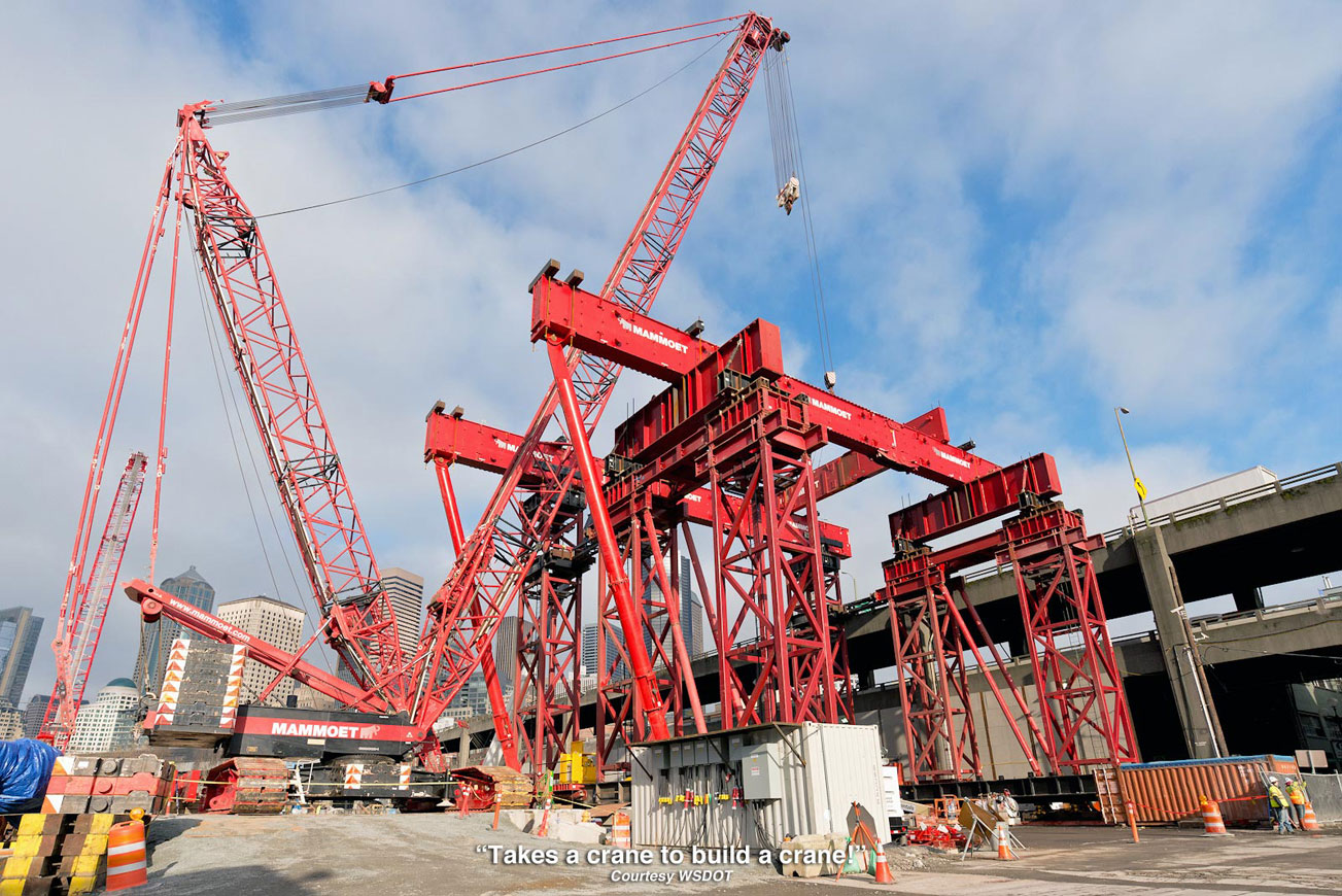Pulleys In Cranes : Oil electric bolting bertha back together