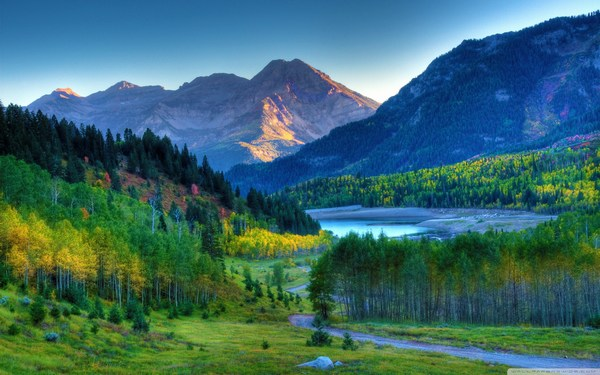 Awesome Mountain Scenery Images of Kashmir