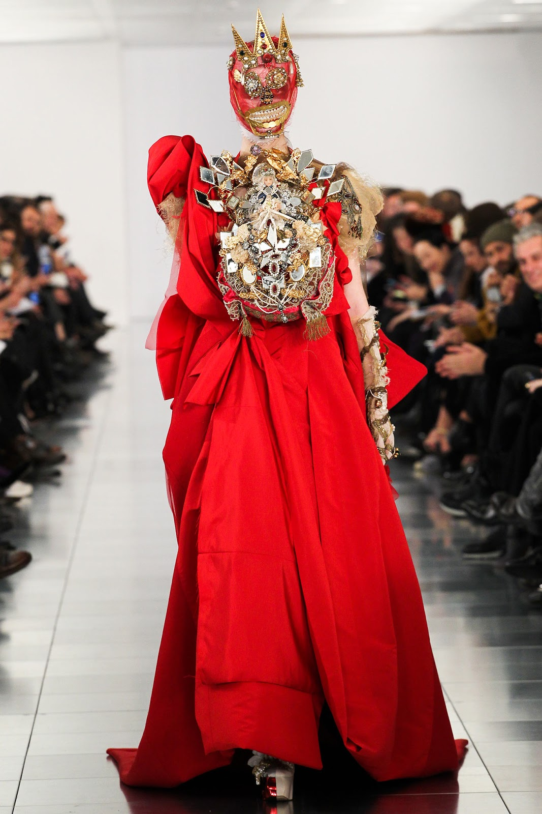 via fashioned by love | John Galliano Maison Martin Margiela Couture Spring/Summer 2015