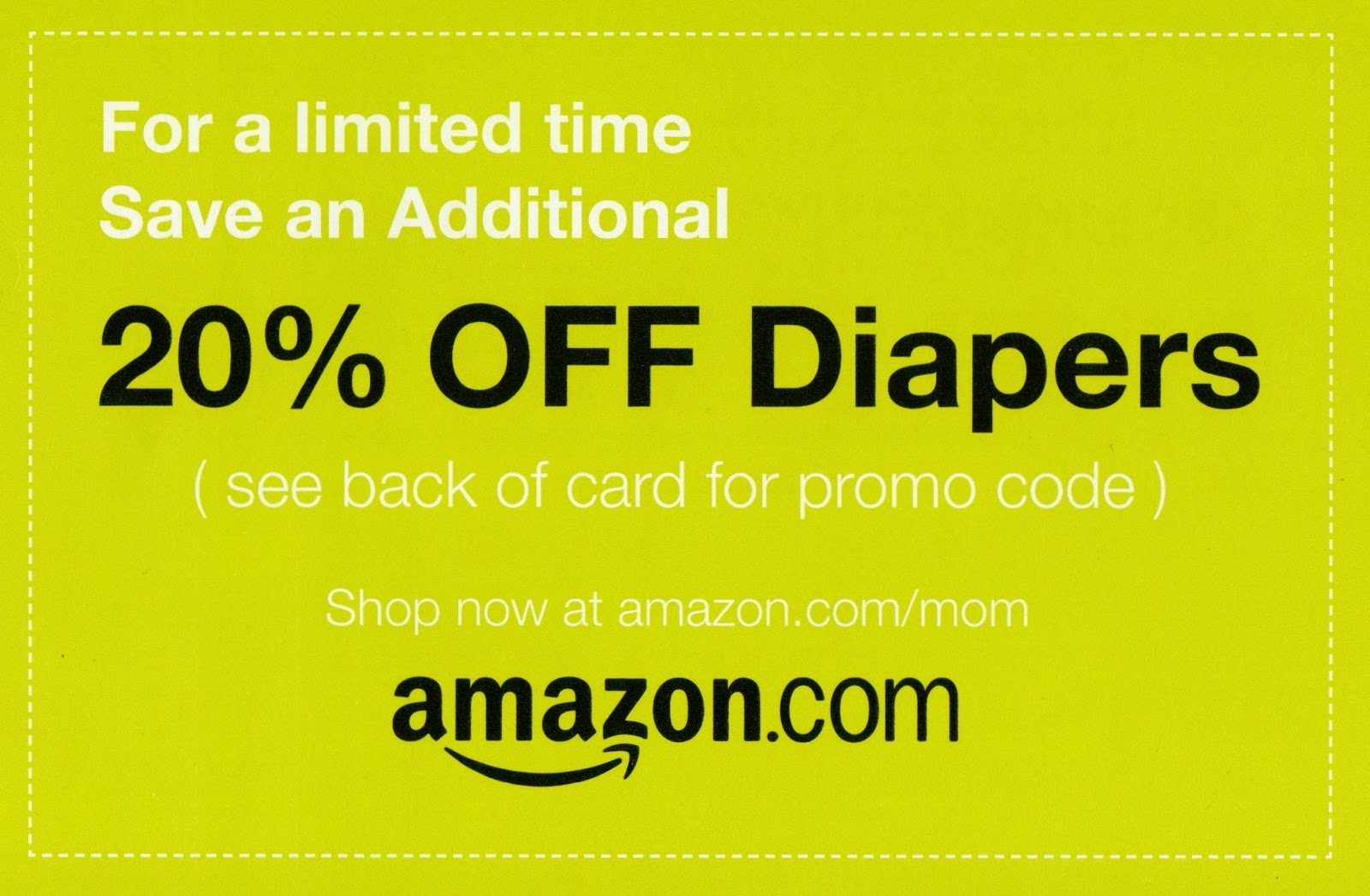 Amazon.com discount coupons