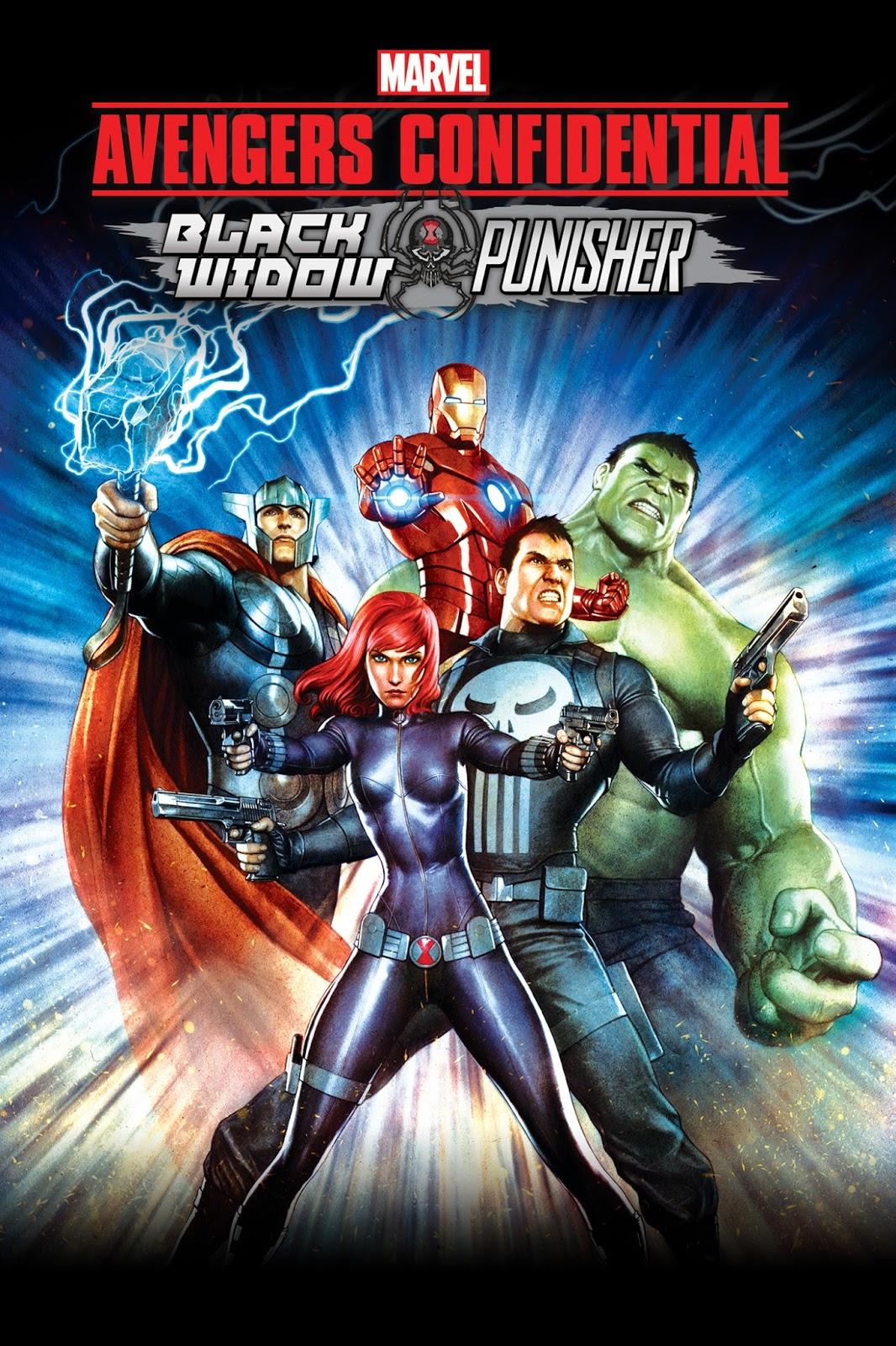 Avengers Los Archivos Secretos Black Widow Y Punisher (2014) [Dvdrip] [Latino]