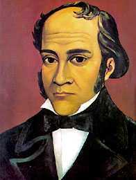 Ilustración de Simón Rodríguez