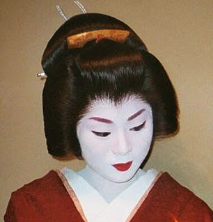 "On more than one occasion I have been asked if I can do ""Geisha Makeup."" Most people expect the stereotypical Halloween or Hollywood makeup —a white face ..."